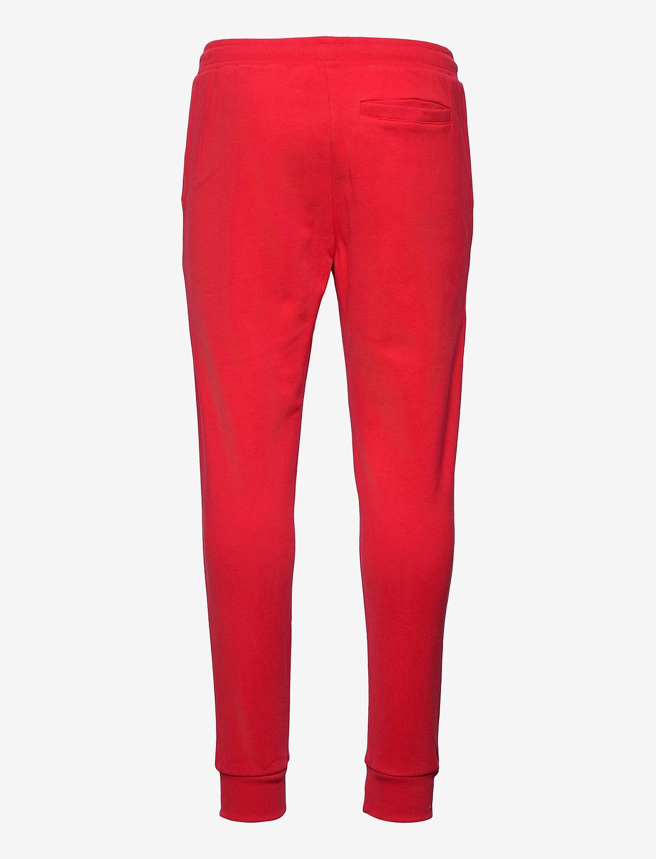 Calvin Klein Jeans - MONOGRAM JOG PANT - odzież - racing red - 1