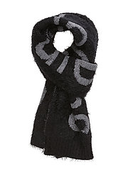AMY WOOL SCARF - CK BLACK