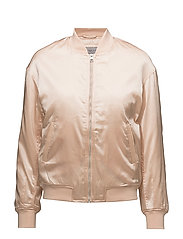 OKKI LW PADDED  BOMBER - CREAM TAN