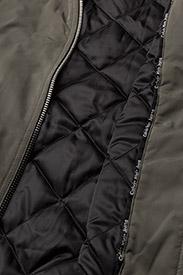 Calvin Klein Jeans - OLVA LW PADDED LOGO BOMBER - bomber jakker - dusty olive - 5