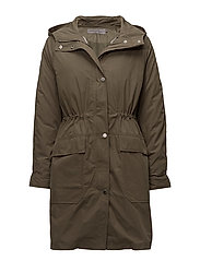 ONAGA 2-IN-1 HD PARKA WITH DOWN PUFFER - DUSTY OLIVE