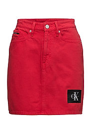 Calvin Klein Jeans - Mini Skirt-Tango Red