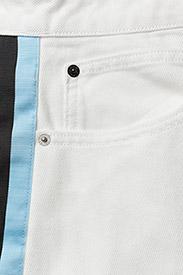 Calvin Klein Jeans - High Rise Mini Skirt Stripe - lyhyet - white - 3