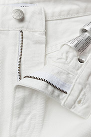 Calvin Klein Jeans - High Rise Mini Skirt Stripe - lyhyet - white - 4