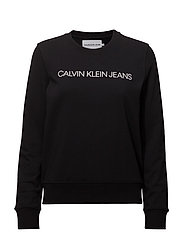 INSTITUTIONAL LOGO SWEATSHIRT - CK BLACK