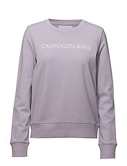 INSTITUTIONAL LOGO SWEATSHIRT - ORCHID PETAL