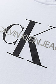 Calvin Klein Jeans - CORE MONOGRAM LOGO REGULAR FIT TEE - t-shirts - bright white - 2