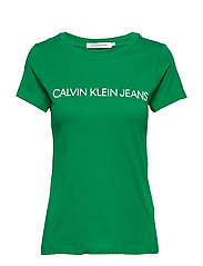 INSTITUTIONAL LOGO SLIM FIT TEE - JOLLY GREEN