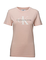 MONOGRAM LOGO REGULAR FIT TEE - CHINTZ ROSE