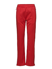 TAPED KNIT STRAIGHT FIT TRACK PANT - TOMATO