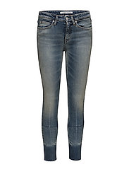 CKJ 011: Mid Rise Skinny West Ankle - COCO BLUE