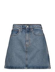 HR mini skirt - LIGHT STONE