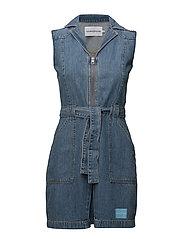 70's dress - IRWIN BLUE