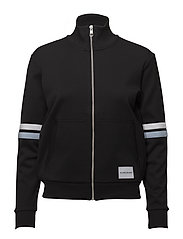 ZIP-UP TRACK JACKET - CK BLACK