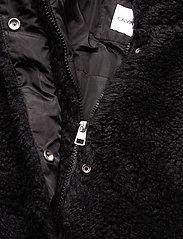 Calvin Klein Jeans - POLAR FLEECE PUFFER - fausse fourrure - ck black - 3