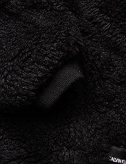 Calvin Klein Jeans - POLAR FLEECE PUFFER - fausse fourrure - ck black - 4