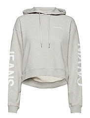 CROPPED INSTITUTIONA - LIGHT GREY HEATHER