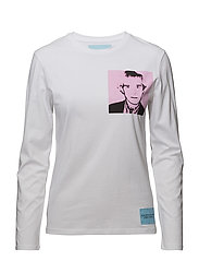 WARHOL PORTRAIT REGU - BRIGHT WHITE / PINK