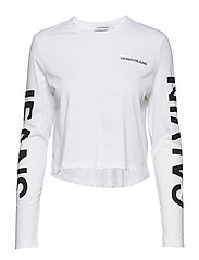 INSTITUTIONAL BACK L - BRIGHT WHITE/ CK BLACK