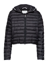 PADDED PUFFER WITH L - CK BLACK