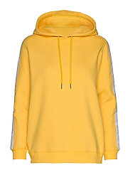 MONOGRAM TAPE HOODIE - LEMON CHROME