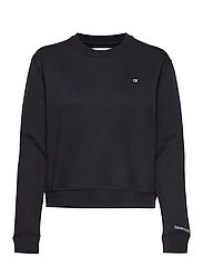 BOXY CREW NECK - CK BLACK