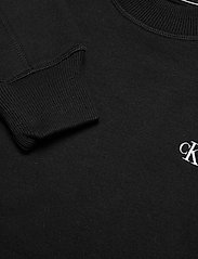 Calvin Klein Jeans - CK EMBROIDERY REGULAR CREW NECK - sweatshirts - ck black - 2