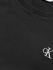 Calvin Klein Jeans - CK EMBROIDERY SLIM TEE - t-shirts - ck black - 2