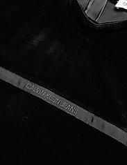 Calvin Klein Jeans - VELVET MOCK NECK DRESS - korte kjoler - ck black - 2