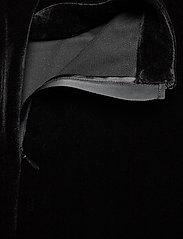 Calvin Klein Jeans - VELVET MOCK NECK DRESS - korte kjoler - ck black - 3