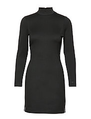 COATED MILANO DRESS - CK BLACK