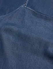 Calvin Klein Jeans - INDIGO TENCEL SLIP DRESS - korte kjoler - mid indigo - 2