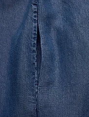 Calvin Klein Jeans - INDIGO TENCEL SLIP DRESS - korte kjoler - mid indigo - 3