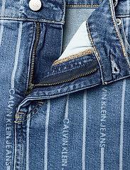 Calvin Klein Jeans - PLUS HIGH RISE MINI SKIRT - jeanskjolar - da149 light blue stripe - 3