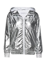 METALLIC WINDBREAKER - SILVER METALLIC