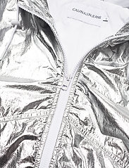 Calvin Klein Jeans - METALLIC WINDBREAKER - lichte jassen - silver metallic - 4