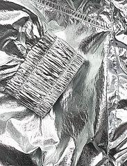 Calvin Klein Jeans - METALLIC WINDBREAKER - lichte jassen - silver metallic - 5