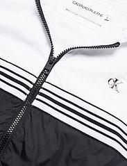 Calvin Klein Jeans - STRIPE TAPE HOODED WINDBREAKER - lette jakker - ck black - 3