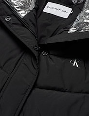 Calvin Klein Jeans - SLANTERED QUILTED FITTED JACKET - fôrede jakker - ck black - 4
