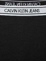 Calvin Klein Jeans - LOGO ELASTIC MILANO MINI SKIRT - kort skjørt - ck black - 2