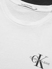 Calvin Klein Jeans - 2 PACK SLIM T-SHIRT - t-shirts - ck black / bright white - 4
