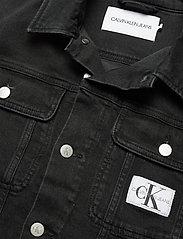 Calvin Klein Jeans - 90S TRUCKER - jeansjakker - ab099 washed black - 2