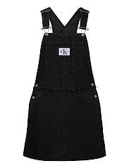 OVERALL DRESS - AB117 WASHED BLACK
