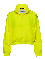 BACK LOGO WINDBREAKER - SAFETY YELLOW