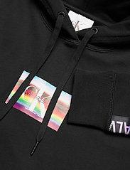 Calvin Klein Jeans - SMALL FLAG BOX - hettegensere - ck black - 3