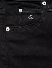 Calvin Klein Jeans - HIGH RISE SUPER SKINNY ANKLE - skinny jeans - bb217 - rinse black lace wb - 2