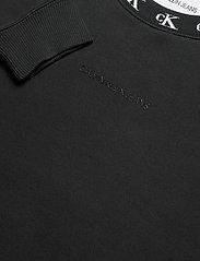 Calvin Klein Jeans - CK LOGO TRIM NECK CN - sweatshirts - ck black - 2