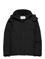 CK ECO PUFFER JACKET - CK BLACK