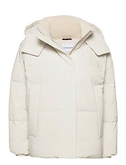 CK ECO PUFFER JACKET - SOFT CREAM