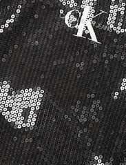 Calvin Klein Jeans - SEQUIN LOGO STRAP DRESS - festkjoler - ck black - 2